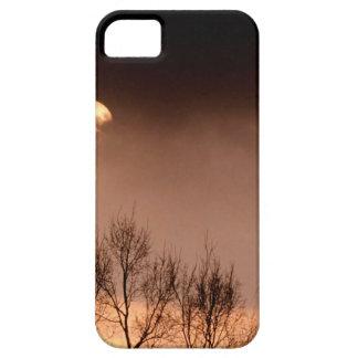 Tarde siniestra de los árboles iPhone 5 Case-Mate protectores