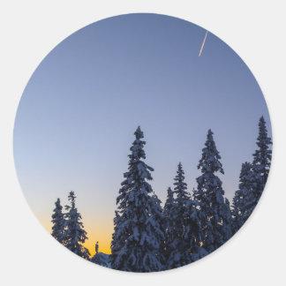 Tarde Snowscape