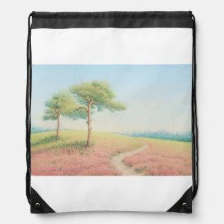 Tarde Sun, nuevo bolso de lazo de los árboles de Mochila