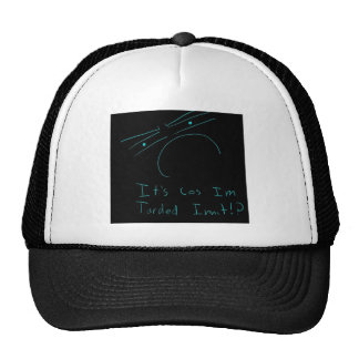 tarded yes trucker hat