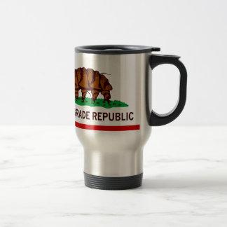 Tardigrade Republic Flag 15 Oz Stainless Steel Travel Mug