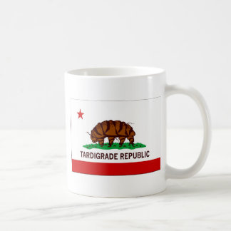 Tardigrade Republic Flag Classic White Coffee Mug