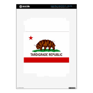 Tardigrade Republic Flag Skin For iPad 3