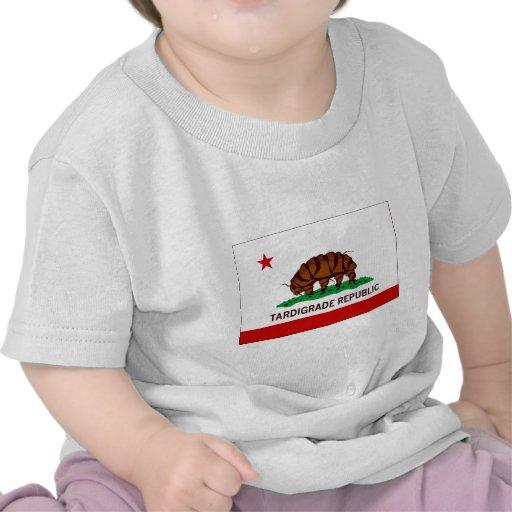 Tardigrade Republic Flag Tshirt