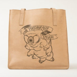 Tardigrade Tough Leather Tote