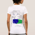 Tardigrades en la parte posterior, Haekel en el Camisetas