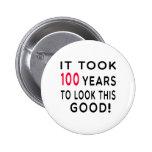 Tardó 100 años de diseños del cumpleaños pin