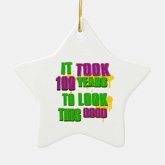 Tardó 100 años para mirar esto bueno ornaments para arbol de navidad