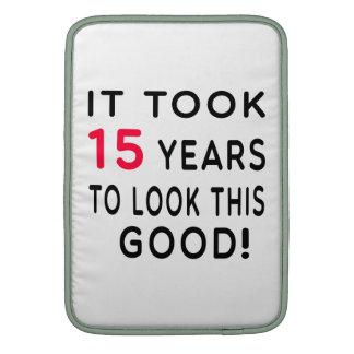 Tardó 15 años de diseños del cumpleaños fundas macbook air