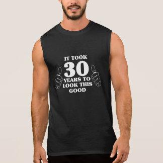 Tardó 30 años para mirar esto bueno camiseta sin mangas