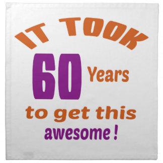 ¡Tardó 60 años para conseguir esto impresionante! Servilletas De Papel