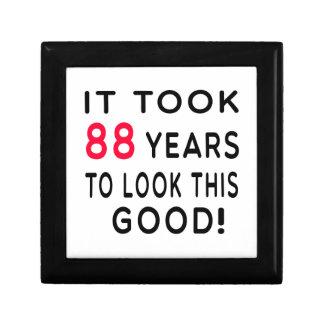 Tardó 88 años de diseños del cumpleaños caja de recuerdo