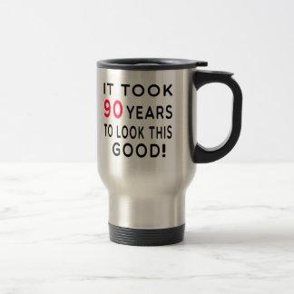 Tardó 90 años de diseños del cumpleaños tazas de café