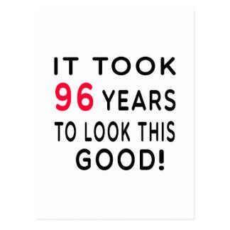 Tardó 96 años de diseños del cumpleaños postal