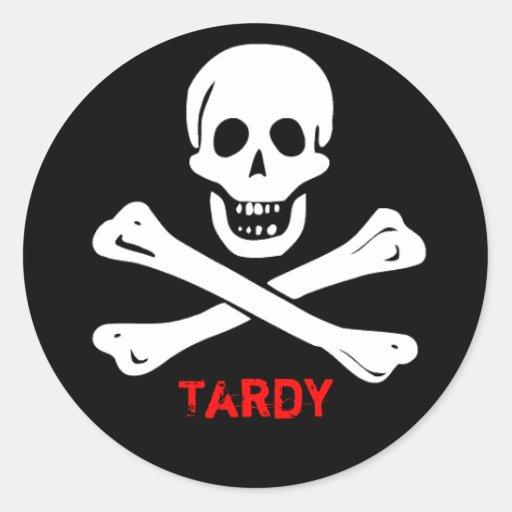 Tardy stickers
