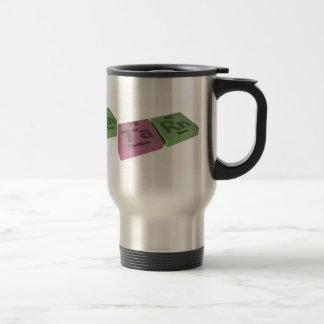 Tare as Ta Tantalum and Rn Radon Travel Mug