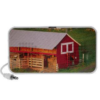 Tareas de la mañana en la granja. Los E.E.U.U., Ve Notebook Altavoces