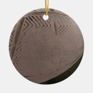 Tareas hercúleas adorno redondo de cerámica