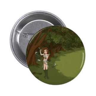 Taren the Archer Warrior Elf Girl Pin