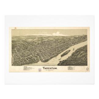 Tarentum Allegheny County Pennsylvania (1901) Letterhead