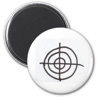 Target 2 Inch Round Magnet