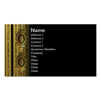 Target Abstrct 3D fractal Double-Sided Standard Business Cards (Pack Of 100)