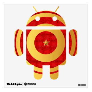 Target Android Wall Sticker