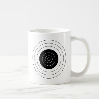 Target BullsEYE Classic White Coffee Mug