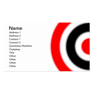 Target Double-Sided Standard Business Cards (Pack Of 100)