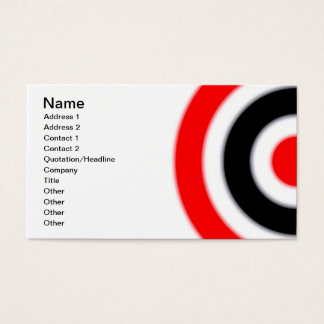 Archery Target Business Cards & Templates | Zazzle