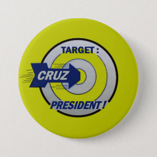 Target: Cruz for President Button