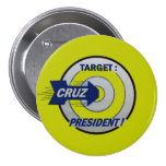 Target: Cruz for President Button