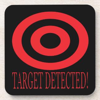 Target Detected Drink Coaster