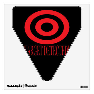 Target Detected Wall Decal