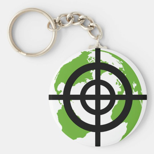 Target Earth Environment crossfades Keychain