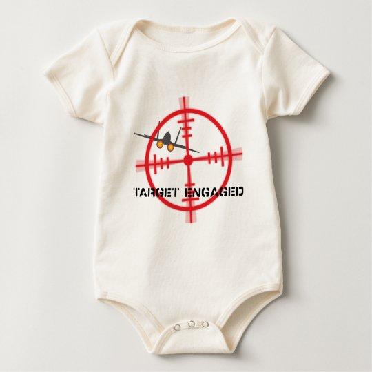 Target Engaged Flight Simulator Pilot Display Baby Bodysuit