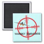 Target Engaged Flight Simulator Pilot Display Magnet