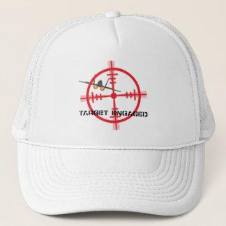 Target Engaged Flight Simulator Pilot Display Trucker Hat