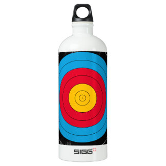Target Face Aluminum Water Bottle
