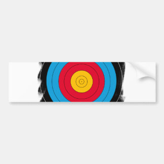 Target Face Bumper Stickers