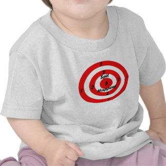 Target for spit t-shirts