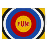Target Fun at Summer Camp! Card