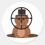 Target: groundhog stickers