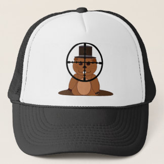 Target: groundhog trucker hat