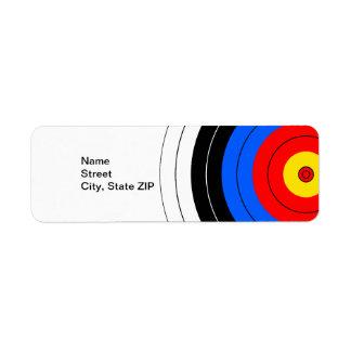 Target Lines Label