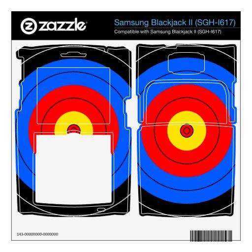Target Lines Samsung Blackjack II Skin
