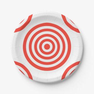 Target Paper Plate