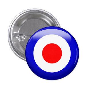 Target Pinback Button