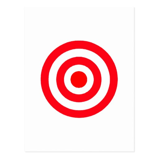 Target Post Cards