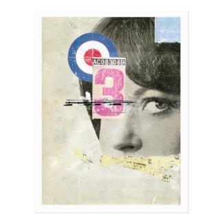 'Target' postcard